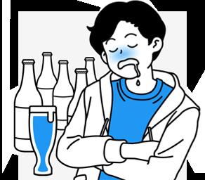 알콜성허언증 이미지